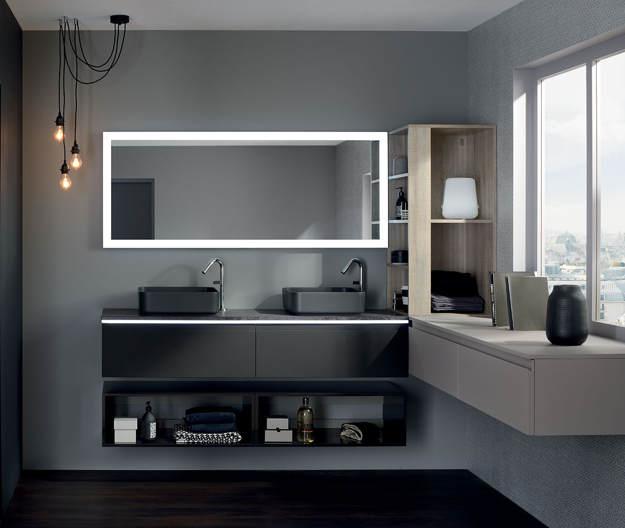sanijura meuble de salle de bain fabrication fran aise. Black Bedroom Furniture Sets. Home Design Ideas