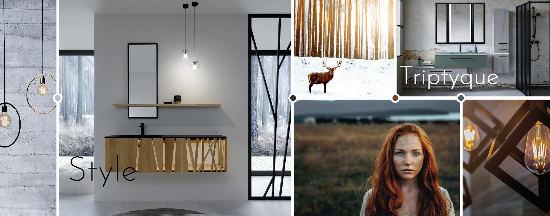 Miroirs Triptyque, Dock et Style