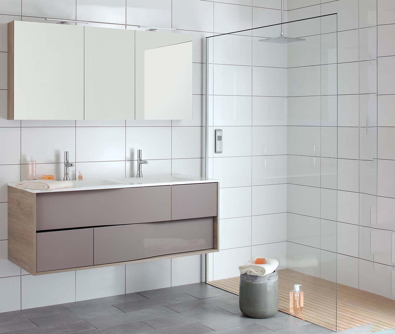 My Lodge range, wooden bathroom furniture – Sanijura