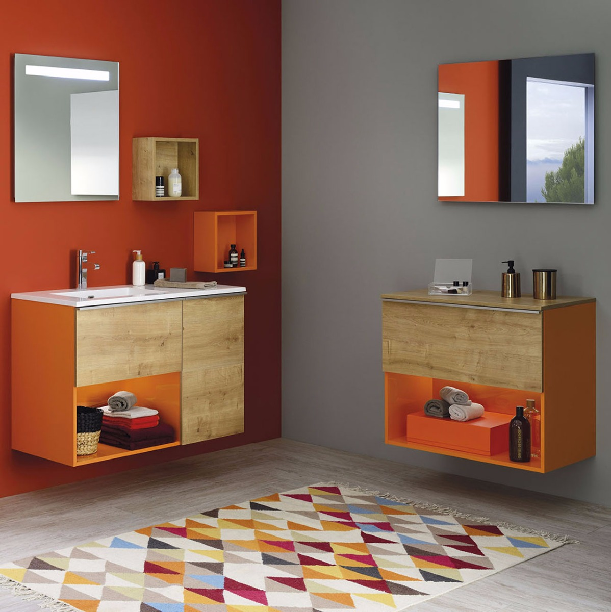 Salle De Bain Rose Et Blanc ~ Liberty Range Trendy Bathroom Furniture Sanijura