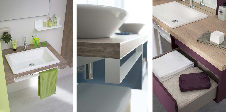 Mix City Range Contemporary Bathroom Furniture Sanijura