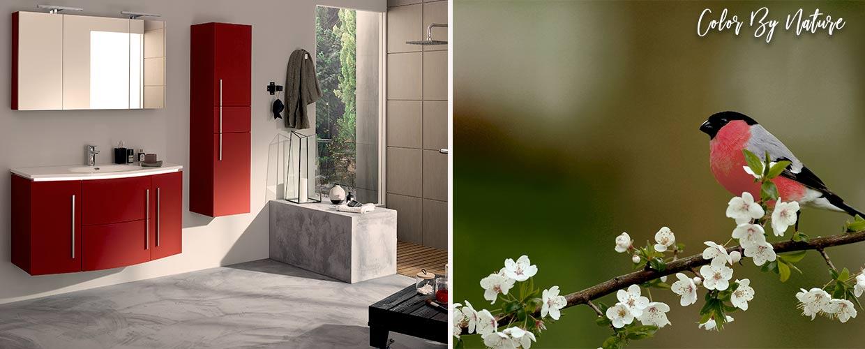 bathroom Soon rood - Sanijura