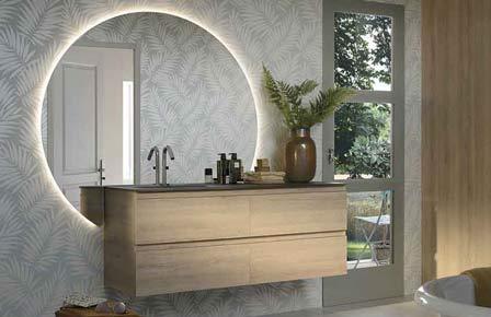 Bathroom lumen bois massif - Sanijura